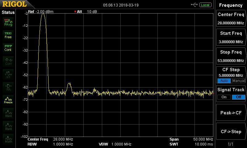 40 Meter Xceiver Spectrum 5 Watt Output
